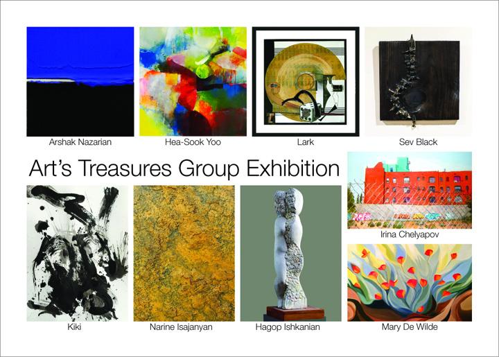 #artstreasures #exhibition #postcard #invitation #narineisajanyan #sevblack #kiki